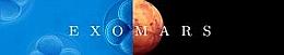 Missionslogo: Exomars (Bild: ESA)