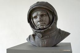 Büste Gagarins im EAC in Köln (Bild: T. Weyrauch)