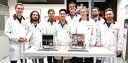 Das SALSAT-Team der Technischen Universität Berlin. (Bild: via DeSK)