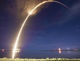 SpaceX startet Asiatsat 6. (Bild: SpaceX)