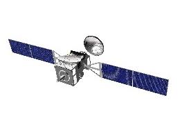 Der ExoMars Trace Gas Orbiter - künstlerische Darstellung (Bild: ESA)