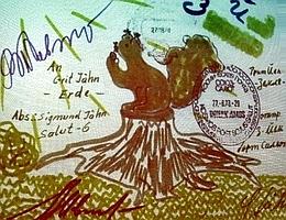 Brief von Sigmund Jähn an seine Tochter Grit aus dem Jahre 1978 (Bild: Kirsten Müller)