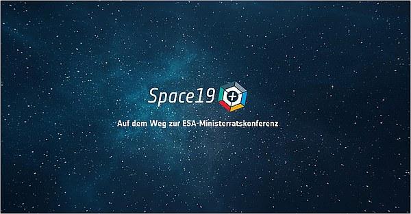 Logo Space 19+ (Bild: ESA)