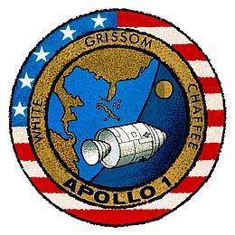 Apollo-1-Missionspatch. (Bild: NASA)