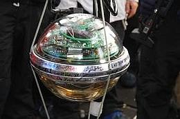 IceCube-Modul  (Bild: Forschungszentrum DESY)