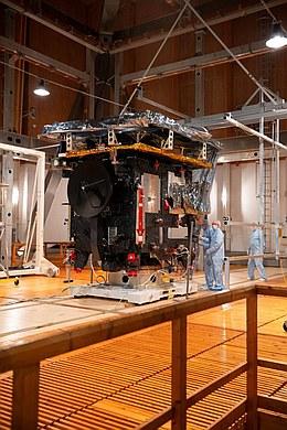 Umfangreiche Tests von Solar Orbiter in Deutschland (Bild: ESA – S. Corvaja)