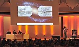 Präsentation des Konzepts der Part Time Scientists auf dem 26. Chaos Communications Congress am 28. Dezember 2009. (Bild: Part Time Scientists)