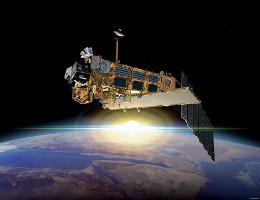 ENVISAT über der Erde - Illustration. (Bild: ESA)