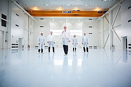 ISO-8-Reinraum mit 1.400 Quadratmetern (Bild: OHB)