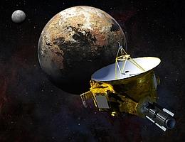 Vorbeiflug von New Horizons 2015 an Pluto und Charon