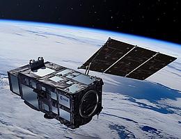 Sentinel-3-Satellit im Weltall - Illustration. (Bild: ESA/Pierre Carril)