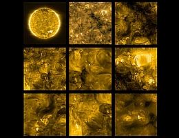 Der Extreme Ultraviolet Imager (EUI) an Bord von Solar Orbiter hat diese Bilder am 30. Mai aufgenommen