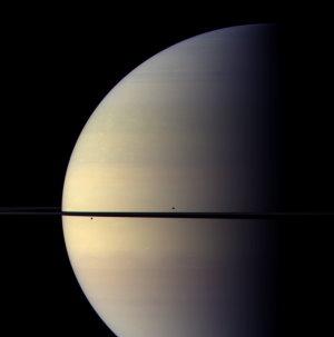 NASA, JPL, Space Science Institute, Bearbeitung: Emily Lakdawalla (Planetary Society)