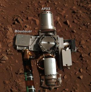 NASA, JPL-Caltech, Cornell University, Max Planck Institut für Chemie
