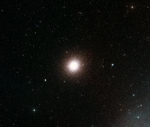 ESO, Digitized Sky Survey 2. Acknowledgment: Davide De Martin