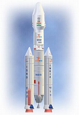 GSLV-Mk-III - Illustration