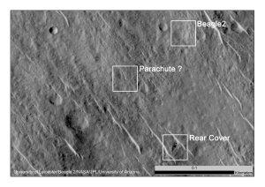 NASA, JPL-Caltech, University of Arizona, University of Leicester, Beagle 2
