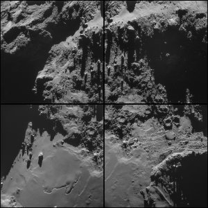 ESA, Rosetta, NavCam