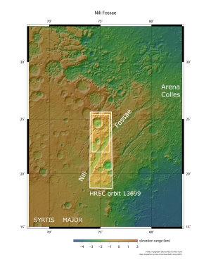 NASA, JPL, MOLA Science Team, FU Berlin