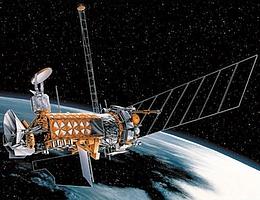 DMSP Block-5D3-Satellit im All - Illustration (Bild: NRO)