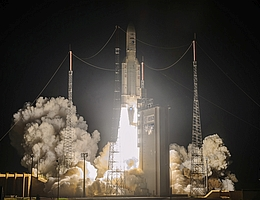 Ariane-5-Start am 16. August 2020. (Bild: ESA/CNES/Arianespace/CSG)