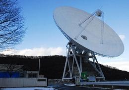 64-Meter-Antenne des UDSC der JAXA, Japan (Bild: JAXA)