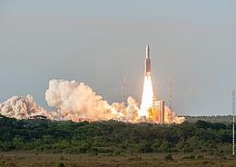 Ariane 5 startet zur Mission VA231 (Bild: ESA / CNES / Arianespace / CSG)