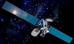 Intelsat 906 im All - Illustration. (Bild: SSL)