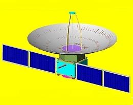 Risat-2 - Illustration (Bild: ISRO)