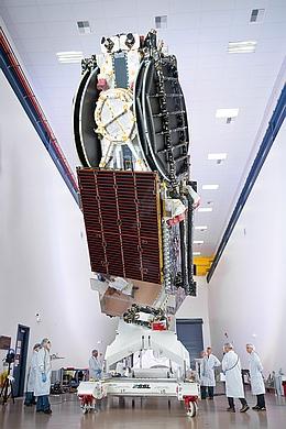 Sky Muster II beim Hersteller (Bild: SSL)