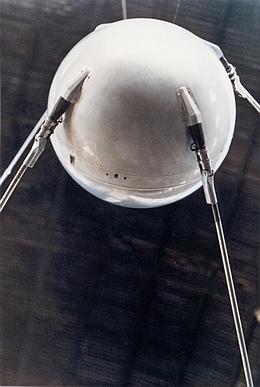 Sputnik 1 Mockup. (Bild: NASA)