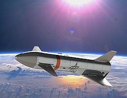 ReFEx nach der Abtrennung auf seiner suborbitalen Bahn im Weltraum - Illustration. (Bild: DLR (CC-BY 3.0))