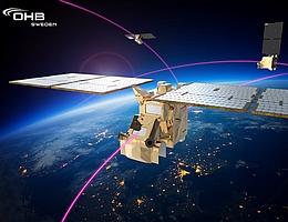 Der Arctic Weather Satellite soll als Vorläufer für eine Konstellation von Kleinsatelliten zur Wettervorhersage dienen. (Bild: OHB Sweden)