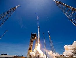 Atlas V startet SBIRS GEO 5 für das SBIRS-Raketenfrühwarnsystem des Space and Missile Systems Center der US-amerikanischen Space Force. (Bild: ULA)
