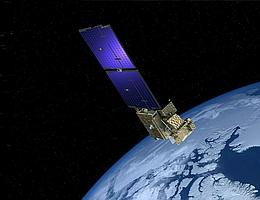 Arctic Weather Satellite (AWS) über der Erde - Illustration. (Bild: ESA)