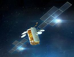 EUTELSAT 36D im All - Illustration. (Bild: Airbus)
