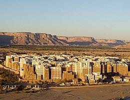 In Schibam im Jemen wurde eine ganze Stadt aus ungebranntem Ton gebaut. (Bild: CC BY SA 2.0)