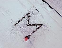 Erste Bahnen als Basis für Bausteine aus Mondstaub – das Projekt MOONRISE legte dafür den Grundstein. (Bild: LZH)