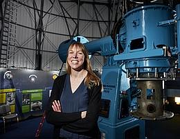 Catherine Heymans aus Edinburgh forscht mit einem hochdotierten Preis als Gastwissenschaftlerin in Bochum. (Bild: Maverick Photo Agency)