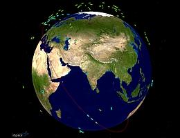 iSpace verfolgt Tausende von Weltraumobjekten, um Ereignisse zu erkennen, einzuschätzen und angemessen darauf zu reagieren. (Bild: Lockheed Martin)