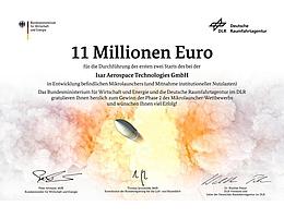 Herzlichen Glückwunsch an Isar Aerospace. (Bild: DLR (CC-BY 3.0))